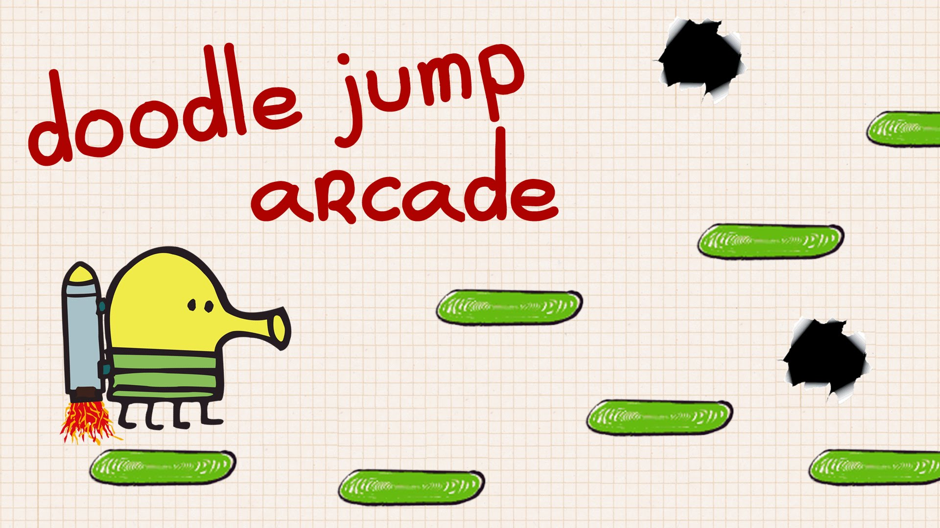 Image result for تریلر بازی Doodle Jump