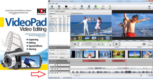 دانلود نرم افزار VideoPad Video Editor Professional