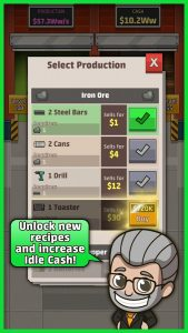 Download Idle Factory Tycoon v1.89.0 + Mod